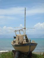 boat resting by artisasis