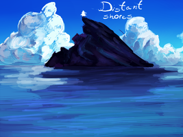 distant shores cover by dimifrost