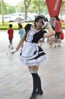 Maid Cosplay by LaviNyaTang