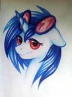 Vinyl Scratch by Mausefang
