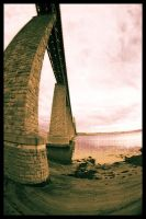 Forth Rail Bridge Art by gdphotography