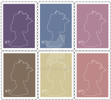 Stamps by Bexy-Lea