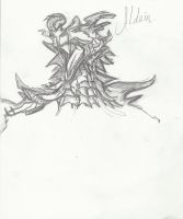 Alduin Sketch by charlieex14