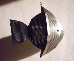 Tin Angel Fish 2 by gibsart