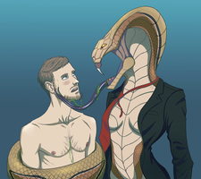 XCOM: Viper's embrace by DeliciouslyDemented
