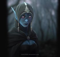 Drow Ranger by DOHH2008