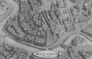 Belle Venue - Old Square by Sapiento