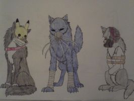 Creepypasta Readers as Wolves by GrimmWolf360