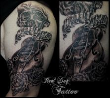 Barrys 1st Session by Reddogtattoo