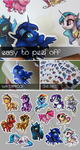 MLP stickers ! by CasyNuf