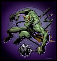 Green Devil by PReilly