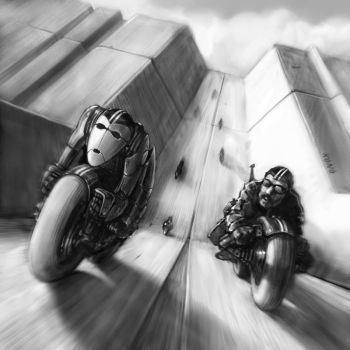 Bionic Twin Racer by sillikone