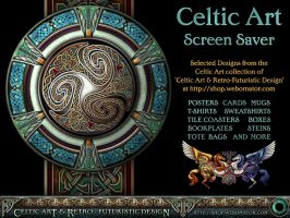 Celtic Art Screensaver Page by BWS