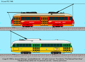 Pacific Electric and LA Transit Lines PCCs by omega-steam