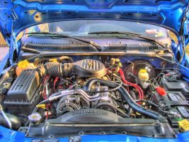 5.9 Engine Shot by intenseblue98rt
