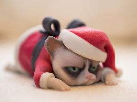 Grumpy Cats worst christmas  4 by ManuelPoehlau