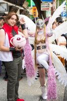 Angewomon + Masaru by digicosplay