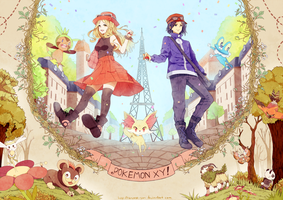 POKEMON XY by tanuma-san