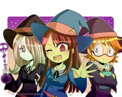 Little Witch Academia by Makavp