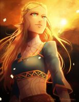 LoZ - Sigh by Br0ps