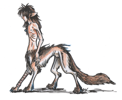 If Shanol was a taur by JavaLeen