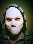 hooded mask by foxdog77