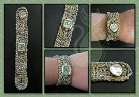 Crochet Watch by MyntKat
