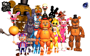 FNaF 2 Pack v2 | Download! ThrPuppet by PuppetProductions