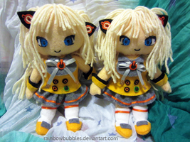SeeU Vocaloid Fanplush by Rainbowbubbles