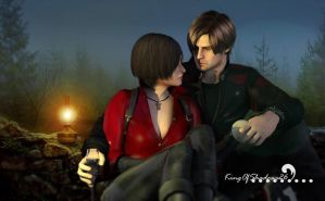 Next Time ( leon and Ada) by kingofshadows26