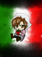 chibi romano (colored) by MarlieNicole