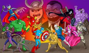 Adventure Time. Assemble!!! by Txeki