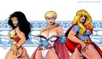 The Wonder, The Power and The Super by JIN-Works