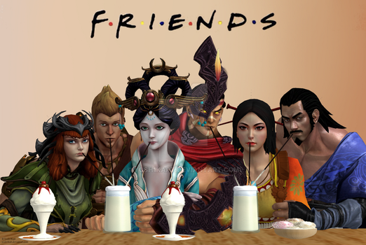 SMITE - Friends Parody by Yosh1Kart