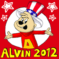 Alvin For President by BoredStupid100