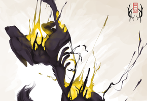 Destroyed Wolf by SorahChan