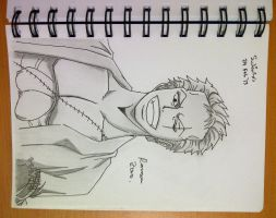 ONE PIECE RORONOA ZORO After 2 Years by SudiLin