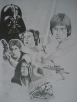 starwars, A new hope by ARTIEFISHEL79