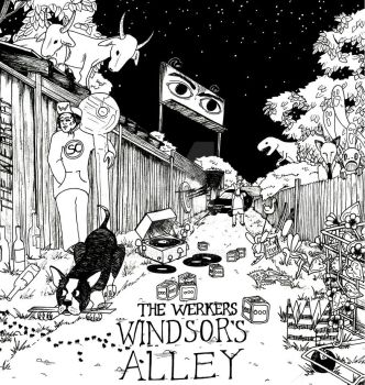 Windsor's Alley (Album Cover for The Werkers) by cmpfsh