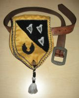 Belt pouch with coat of arms by luthien368