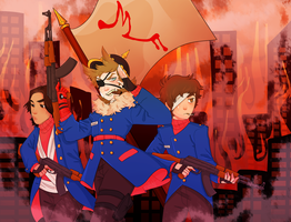 The Red Army by xVAIN