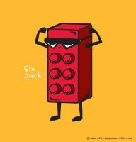 Six Pack by flyingmouse365