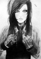 Andy Biersack by gimimoroz