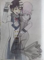 kid x crona au by BlackMoon4242564