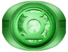 Green Lantern Ring Firey Core by KalEl7