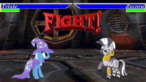 Pony Kombat Tournament Round 2, Battle 5 by Mr-Kennedy92