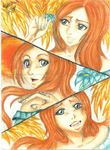 Fall Contest - Orihime Inoue by NeoAngeliqueAbyss