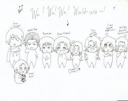 Hetalia : Paint It White Doodle by anime-manga-freak1
