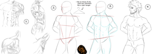 Tutorial - males by minktee