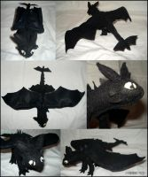 Night Fury Plush by Hobsyllwin18